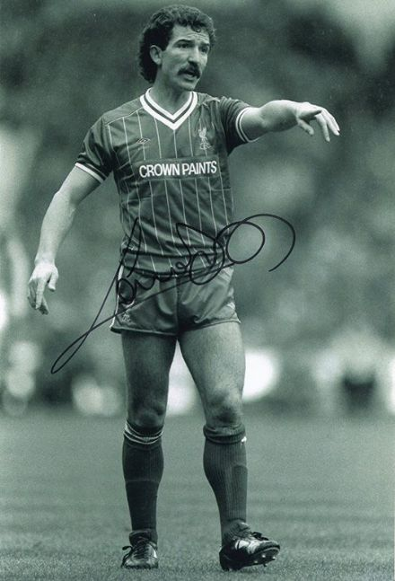 Graeme Souness, Liverpool & Scotland, signed 12x8 inch photo.